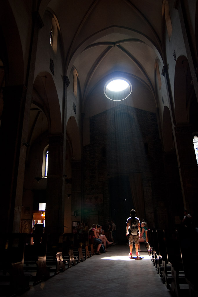 In the Light - cathedral italy